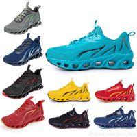 Scarpe da corsa Non-Brand Uomini Fashion Trainer Bianco nero Giallo Giallo Navy Blue Blued Green Mens Sport Sneakers # 98