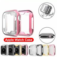 Cover For Apple Watch Case 40mm 44mm iWatch Cases 42mm 38mm Series 6 5 4 3 SE Screen Protector Bumper Accessories