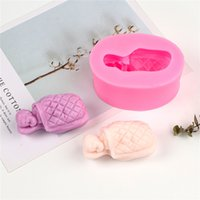 Easy Release Non-Stick Sleeping Baby Aroma Silicone Body Candle Mold Baby Plastic Crystal Decor Creative DIY Handmade Stereo