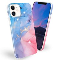 Disegno a colori in marmo Anit-Drop Soft TPU Lady Telefono cellulare Custodie per iPhone XR XS 11 12 Pro Max Samsung A02 M02 A50 A70 A12 A32 A42 A52 A72 5G