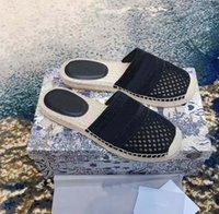 Locais de Clássicos Espadrilles Luxurys Designers Sapatos Tênis Lona e Real Lambskin Dois Tom Cap de Tee Moda Moda Mulheres Sapato Home011 012