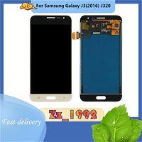 """Cep Telefonu Dokunmatik Paneller En Kaliteli 5.0 """"Samsung J3 J320 LCD Ekran Onarım Için Yedek Ekran Digitizer Montaj Testi Kesinlikle"""