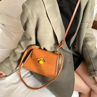 Shoulder Bags Female Fashion Buckle Flap Messenger Women's Handbags Casual Crossbody Retro Ladies Totes