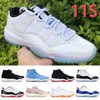 11s tênis de basquete mens womens raça concord 45 space jam cobra luz osso infravermelho 23 barões alta baixa outdoor sports sapatos