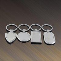 Bague en acier inoxydable Bague en métal Porte-clés NOUVEAU Publicité créative Personnalisation Personnaliser KeyRings pour Promotion Cadeaux96 Q2