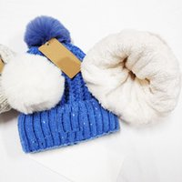 MOQ-5pcs Winter Christmas Hats For man woMen sport Fashion Beanies Skullies Chapeu Caps Cotton Gorros Wool warm hat Knitted pile h ats