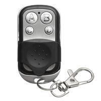Ganci Binari Metallo Metallo Four-Button Electric Garage Key Key Universal Access Control Security Allarme Area Copia telecomando wireless
