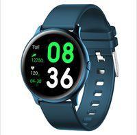 KW19 Akıllı İzle Bilezik KW19Pro Smartwatch Kan Basıncı ve Kalp Hızı Monitörü Bluetooth Müzik Fotoğrafçılığı Multy Spor Modu Erkek Saatler