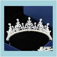 Headpieces Aessories , Party & Events Wedding Pearls Rhinestone Bridal Hair Aessorie Fascinator Crown Tiara Zapatos Las Novias Blancos Coron