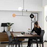 Pendant Lamps Modern Led Stone Crystal Luminaire Hanging Lights Retro Lamp Chandelier Industrial Dining Rooom Bedroom