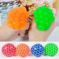 5CM Anti Stress toy Face Reliever Colorful Ball Autism Mood Squeeze Relief Funny Gadget Vent Fidget Decompression Toys Squash Grape Balls