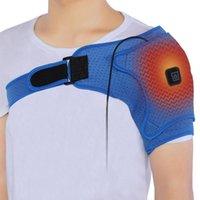 حزام الكتف التدفئة الكهربائية ابق دافئ ضغط العضلات المانحة يخفف من دعم آلام التفاف
