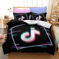 Bedding Sets Fashion Symbol 3D Printed Down Quilt Cover Adult Children Bedsheet And Pillowcase Single Double King Queen Full Size