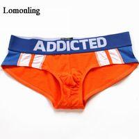 Mandropant Lomonling Uomo Biancheria intima elegante Low Rise Uomo Comfort Traspibile Slip 4 Colori opzionali