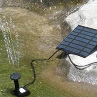 Watering Equipments Solar Fountain Free Standing Floating Submersible Water Pump Set With 4 Sprinkler Heads For Swimming Pool Garden