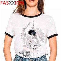 Oya HAIKYUU T-shirt Erkekler Estetik Baskı Tumblr Yaz Top Grafik Tees Kadın Erkek T-Shirt