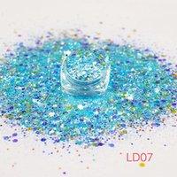 Ongles paillettes de paillettes 1kg paillettes étincelantes irriquentes pour ongles Chameleon Sirène Super Shining Manucure Making UV Conseils UV