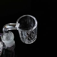 Quartz Banger Nail Smoking Accessories 14mm 18mm Female Male Joint Nailes 90 Degree Dab Tool For Water Pipe Glass Bong