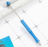 Créativité Personnalisé Ajouter une perle Perled stylo goutte d'eau Tête de goutte bricolage de billets en métal percham en métal Bijoux de coeur bijoux décorés gga4638