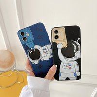Cartoon Astronaut Men Pattern Phone Cases For Iphone 13 Pro Max 12 MIni 11 XSMAX XR XS X 8 7 Plus New Fashion Design Cellphone Case Back Cover