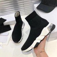 Bottes de chaussettes élastiques tricotées bottes 38-42-45 plate-forme classique Automne occasionnelle taille chaussures d'épaisseur sexy Sports Sports Sports Sports Lady Femmes Up Fashion Vlhb