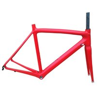 T800 Karbon Yol Bisikleti Çerçeve Bisiklet Bisiklet Frameset Süper Işık 980g DI2 / Mekanik Yarış Çerçeveleri