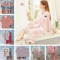 10 stili da donna Sleepwear Pigiama HomeWear di alta qualità Silky Satin Donne Pigiama Fashion Casual Home Abbigliamento