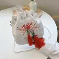 Серия Древняя сумка Новый MORI Холст Маленький Плечо Китайский Стиль Сказочный кошелек Hanfu Messenger Gulo