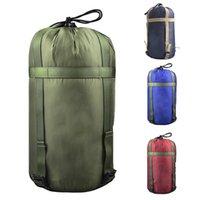 Hohe Qualität wasserdichtes Kompressionsbeutel Sack Outdoor Camping Schlafsack Nylon Aufbewahrungstasche für Campingreisen Wandern 1020 Z2