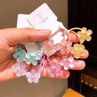 Hair Accessories 2pcs lot Cute Princess Color Head Headwear Kids Elastic Bands Children Ropes Girls Baby Headdress