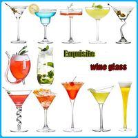Креативное вино коктейль кристалл стекло персонализированные бар Martini Margarita чашки шампанского очки с питьевой вечеринкой свадьба X0703