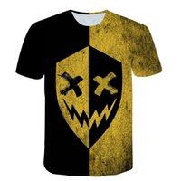 Men's T-Shirts XOXO - 3D Printed T-shirt, Large Short Sleeve Youth Shirt, Urban Fashion, Hip Hop, Novelty In Summer 2021