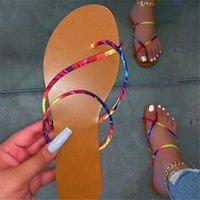 Slippers Women Spring Summer Soft Non-Slip Foam Sole Durable Slide Sandals Ladies Outdoor Beach Multicolour Zapatillas Mujer