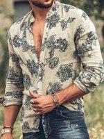 Men's Casual Shirts Cardigan Button Hawaii Turn-down Collar Graffiti-art Print Beach Short Sleeve Quick Dry Hawaiian Shirt Streetwear