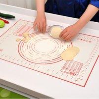 Outils de cuisson à tapis en silicone pour gâteaux Pâtisserie ustensiles ustensiles Cuagueware Accessoires de boulangerie Produits de cuisine Pad de cuisine Rolling Pins Boards