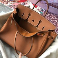 Väska äkta läder kvinna väska lychee mönster liten kohud lås brud handväska 25 30 35 40 stor väska