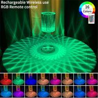Desk Lamps USB Touch Rechargeable Table Lights Living Room Restaurant Bar Atmosphere Light Bedside Lamp