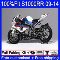 Body Injection Mold For BMW S 1000 S-1000 S1000 RR 2009 2010 2011 2012 2013 2014 1No.93 S1000-RR Bodywork S 1000RR S1000RR White red blue 09 10 11 12 13 14 OEM Fairing kit