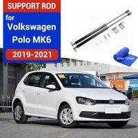 Monitoraggio del motore per auto Stropars per VW Polo 2019-2021 AW MK6 Refit Bonnet Hood Gas Spring Shock Ascensore Supporto Asta idraulica Asta Accessori per lo styling