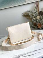 2021 مصانع الصيف تنقش منتفخ الجلود سلسلة حقيبة كوسين pm حقيبة يد الأزياء الأمامية حقائب الكتف عبور الجسم مع حزام أعلى جودة