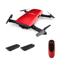 Goolrc T47 6-Axis Gyro Selfie Drone RTF WIFI FPV 720 P HD Kamera Quadcopter Katlanabilir G-Sensor RC Helikopter Oyuncaklar Çocuklar için Drones