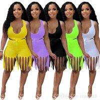 النساء اثنان قطعة السراويل المصممين رياضية الصيف السراويل الملابس الخفافيش كم أعلى مجموعة زائد الحجم اليوغا وتتسابق الأزياء شرابة الركض الدعاوى