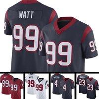 99 j.j. Watt American Football Jersey 4 Deshaun Watson 23 Arian Foster 90 Jadeveon Clowney 2 Mark Ingram II 31 David Johnson 94 Charles Omen