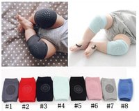 500pairs Baby Knee Pads Non Slip Infants Home Textile Smile Knee-Pads Newborn Crawling Elbow Protector Leg Warmer Kids Safety Kneepad Boys Girls Socks LSK333 UPS