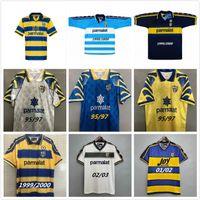 Parma Calcio Retro Soccer Jersey Classic 1995 1997 1998 1999 2000 2001 2002 2003 95 97 99 00 Baggio Crespo Cannavaro 빈티지 축구 셔츠 Thuram 01 02 03