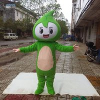 Adult Size Green Leaf Mascot Costumes Halloween Fancy Party Dress Cartoon Character Carnival Xmas Easter Advertising Birthday Party Costume Outfit