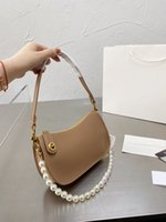 Swinger Bag One Shoulder Armpit Crossbody Portable Crescent Style Hardware With Exquisite Counter Size 23 13