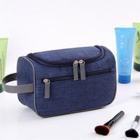 Viajes Cosmetic Bag Impermeable Colgando Bolsas de maquillaje Oxford Paño Organizador Mujeres Maquillaje Casas Lavado Lavado Casos de aseo