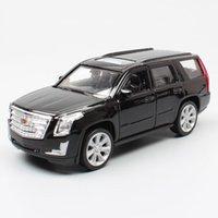 1:36 Maßstab Mini Cadillac Escalade GMT820 ESV Luxus SUV Metal Welly Autos Fahrzeuge Diecast Ziehen Sie das Modell Spielzeug für Kinder Geschenk
