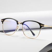Anti blå ljus glas män läser skyddsglasögon skydd eyewear glasögon glasögon spel dator glasögon för kvinnor solglasögon